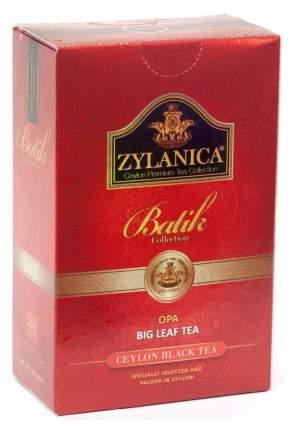 Чай Zylanica Batik Collection черный листовой ОРА 100 г