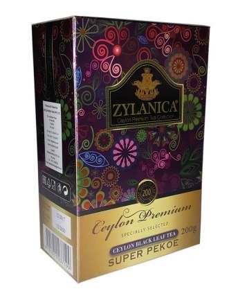 Чай Zylanica Ceylon Premium черный листовой Super Pekoe 200 г
