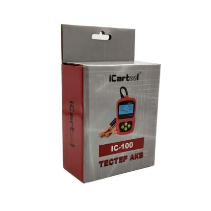 Тестер аккумуляторных батарей (АКБ) 12V Car-tool IC-100