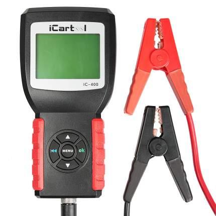 Тестер аккумуляторных батарей (АКБ) 12/24V Car-tool IC-400