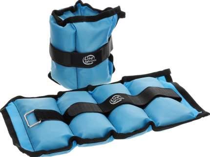 Утяжелители Lite Weights 5862WC 2 x 1 кг, light blue