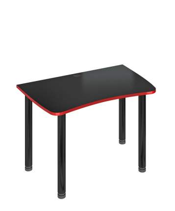 Компьютерный стол Мэрдэс СКЛ-Софт120МОЧ 120x75x77, чёрный
