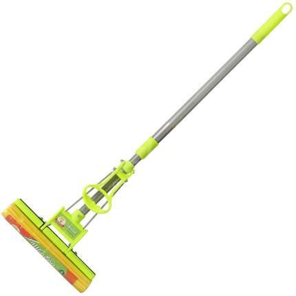 """Швабра отжим """"Умничка"""", с телескоп.ручкой, 120см"""