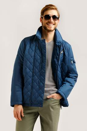 Куртка мужская Finn-Flare B20-42003 синяя 2XL