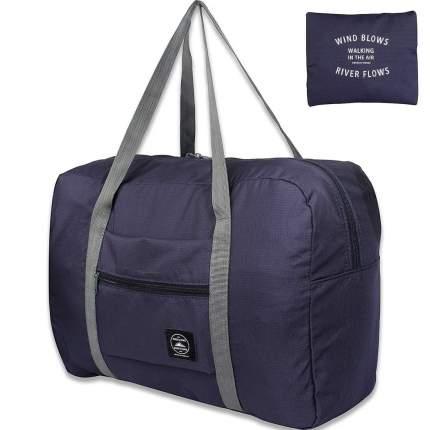 Дорожная сумка Travelkin Wind Blows cиняя 34 x 45 x 20 см