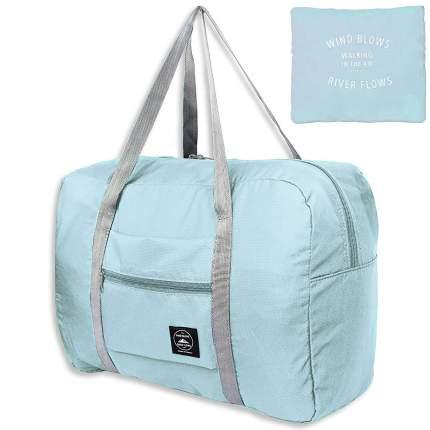 Дорожная сумка Travelkin Wind Blows голубая 34 x 45 x 20 см