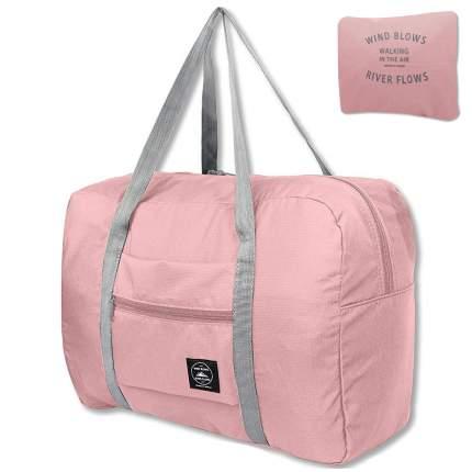 Дорожная сумка Travelkin Wind Blows розовая 34 x 45 x 20 см