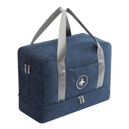 Дорожная сумка Travelkin Лоукостер синяя 39 x 30 x 18 см