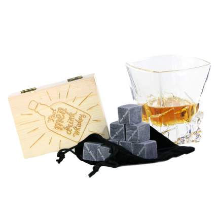 Набор камней для виски в подарочной коробочке Adam Franklin AF-ST-MEN