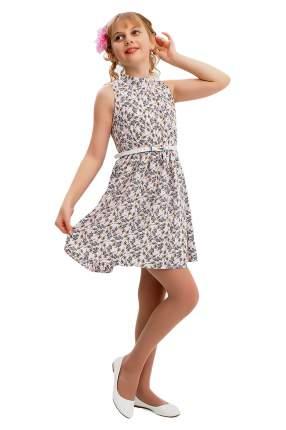Платье с ремешком детское Ladetto, цв. бежевый, р-р 140