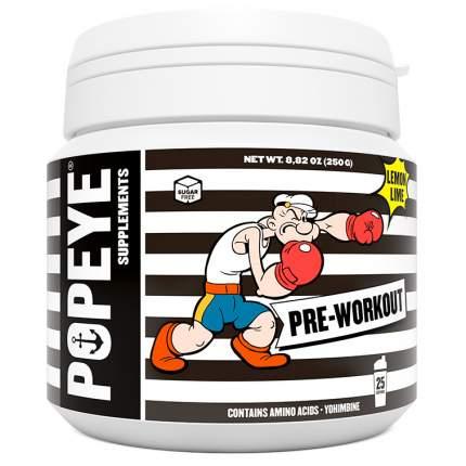 Предтренировочный комплекс Popeye Supplements Pre-Workout 250 г лимон-лайм