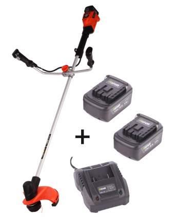 Триммер  аккумуляторный SAFUN BCL-18-301 (18В)леска+нож 2акб