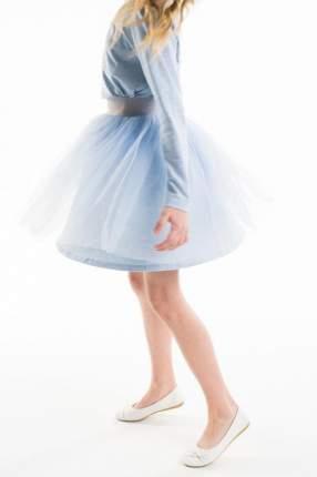 Юбка для девочки Gulliver, цв.голубой, р-р 140