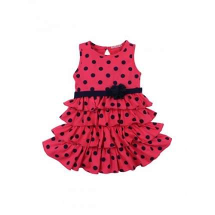 Платье для девочек Bonito kids, цв. малиновый, р.92