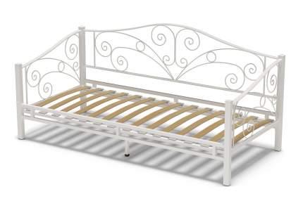 Кровать ГайваМебель Лаура металлическая 900х2000 мм Белый