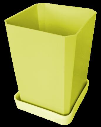 Набор горшков для рассады, 750 мл, 6 штук, цвет желтый