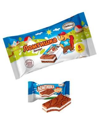 Пирожное бисквитное Ломтишка 160 гр. 8 шт.Акконд/Вкус знакомый с детства