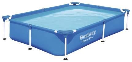 Каркасный бассейн Bestway Rectangular Steel Pro 56401 221x150x43 см