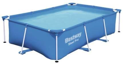 Каркасный бассейн Bestway Rectangular Steel Pro 56403 259x170x61 см