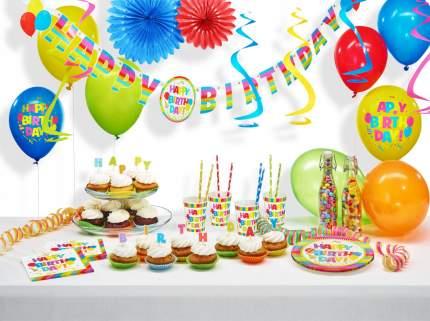 """Гирлянда """"Happy Birthday"""", 1,6х110 м"""