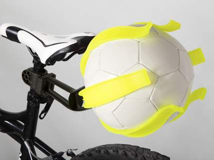 BELLELLI Крепление для мяча KIK BALL, цвет: жёлтый