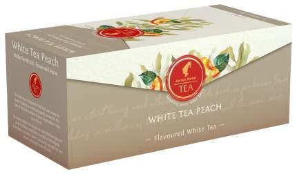Белый чай Julius Meinl White Tea Peach, 25 пак.