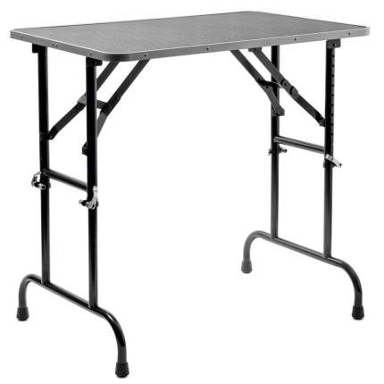 Грумерский стол ZooOne Профи, складной, серый, с кронштейном, TP15436, 92*60*83 см