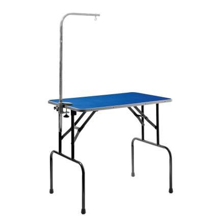 Грумерский стол ZooOne Профи складной, синий, с кронштейном,  tp15436s, 92*60*83 см