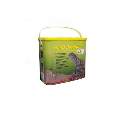 Натуральный песок для террариумов Lucky Reptile Sand Bedding оранжевый, 10.67 кг, 7.5 л