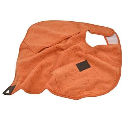 Полотенце  для собак и кошек Rosewood Tall Tails из микрофибры, оранжевое,  51*51 см