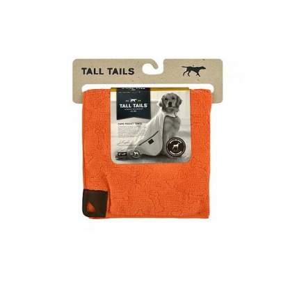 Полотенце для собак и кошек Rosewood Tall Tails из микрофибры, оранжевое,  67*67 см