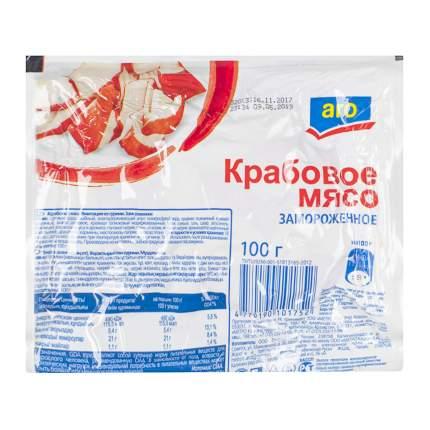 Крабовое мясо Aro замороженное 100 г