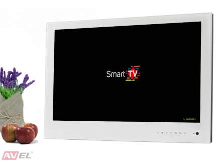 Встраиваемый Smart телевизор AVEL AVS240WS White