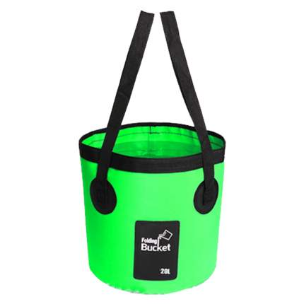 Водонепроницаемая складная сумка-ведро Nuobi Folding Bucket Зеленый 20л