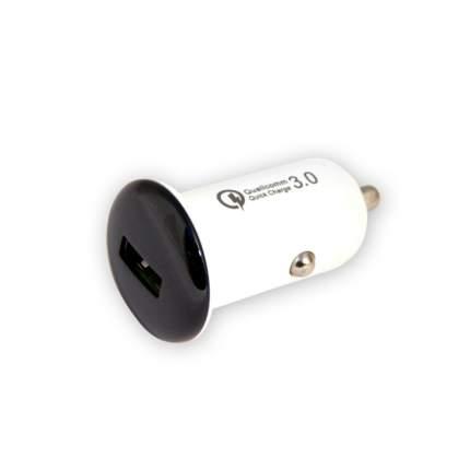 АЗУ Belsis быстрая зарядка, Quick Charge QC 3.0, 1 USB, 5,1 A, серебр