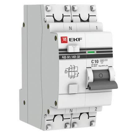 Дифавтоматы EKF DA32-10-30-pro
