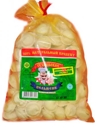 Пельмени Суздальские полуфабрикаты Оптимальный размер 900 г