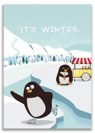 Блокнот It's winter