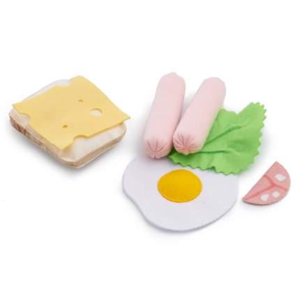 FoodBoxToys Игровой набор продуктов из фетра Завтрак
