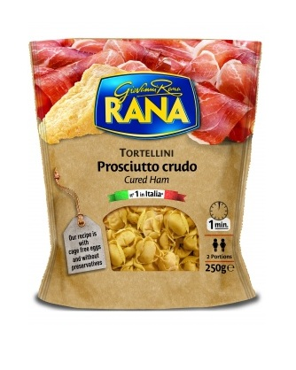Пельмени Rana Tortellini с вяленой ветчиной и сыром
