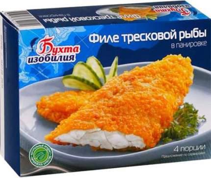 Филе Бухта Изобилия тресковой рыбы в панировке