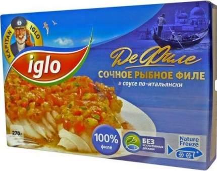 Рыбное филе Iglo в соусе по-итальянски
