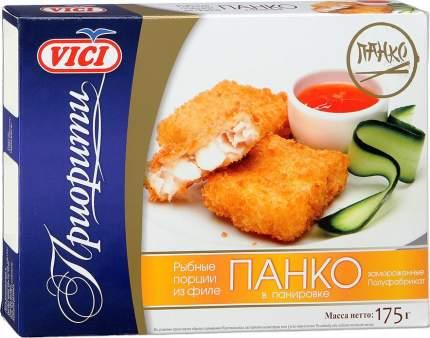 Рыбные порции Vici из филе Панко в панировке замороженные