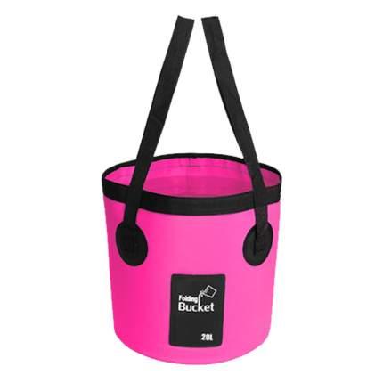 Водонепроницаемая складная сумка-ведро Nuobi Folding Bucket Розовый 20л