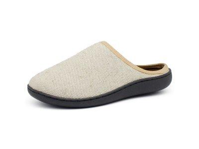 Обувь ортопедическая домашняя,съемная ортопедическая стелька,лен LM-803.008 р.35-36