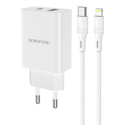 Сетевое зарядное устройство Borofone BA56A White