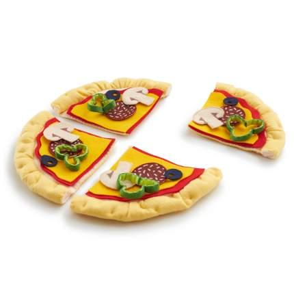 FoodBoxToys Игровой набор продуктов из фетра Пицца