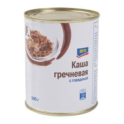 Каша Aro Домашняя гречневая с говядиной
