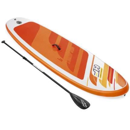 Доска для SUP SERF Bestway 65349 Aqua Journey р274х76х12см (весло, насос, рюкзак) до 100кг