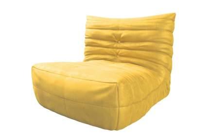 Бескаркасный диван Hoff Маршмеллоу one size, микровельвет, Желтый